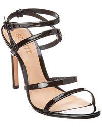 367cbe6d36a2 Lyst - Schutz Ilara Leather Sandals