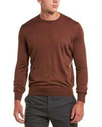 Brunello Cucinelli Cashmere Crew Sweater - Brown