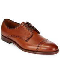 Allen Edmonds - Madison Cap-toe Leather Oxfords - Lyst