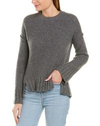 Zadig & Voltaire Mark Cashmere Sweater - Gray
