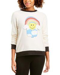 Lauren Moshi Fiora Sweatshirt - White
