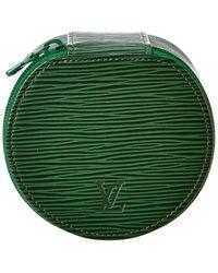Louis Vuitton Green Epi Leather Ecrin Bijoux 8