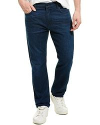 7 For All Mankind 7 For All Mankind Adrien Dark Wash Tapered Leg - Blue
