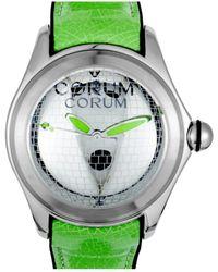Corum Men's Rubber Watch - Green