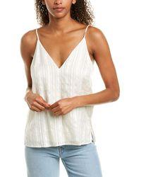 Cami NYC The Olivia Silk Top - White