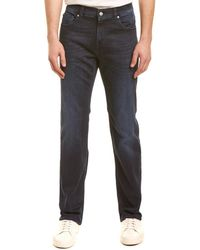 7 For All Mankind 7 For All Mankind Standard Luxe Performance Dark Blue Straight Leg