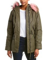Sam. Mini Hudson Parka - Green