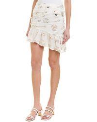 A.L.C. Avalon Mini Skirt - White