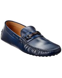 Tod's Gommino Leather Loafer - Blue