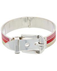 Gucci Garden Silver Bracelet - Metallic