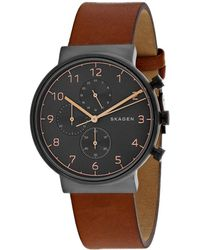 Skagen Men's Ancher Watch - Multicolour