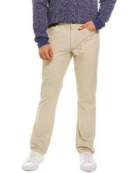 Hickey Freeman Golf Pant - Natural