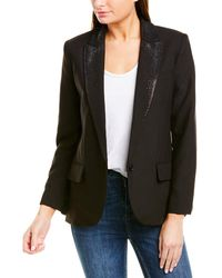 Zadig & Voltaire Viking Strass Jacket - Black