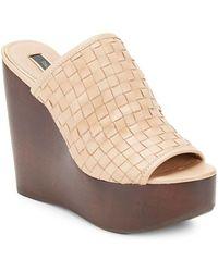 Rachel Zoe - Kiley Leather Open-toe Sandals - Lyst