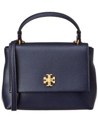 08053bed2cb1 Tory Burch - Kira Top Handle Mini Leather Satchel - Lyst