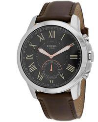 Fossil Barstow Smartwatch - Metallic