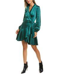 Lucy Paris Sienna Wrap Dress - Green
