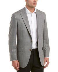 Hart Schaffner Marx - Chicago Fit Silk & Wool-blend Sport Coat - Lyst