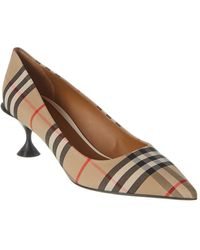 Burberry Vintage Check Pump - Brown