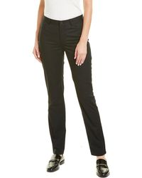Lafayette 148 New York Curvy Slim Pant - Black