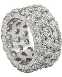 Diana M. Jewels . Fine Jewellery 18k 5.77 Ct. Tw. Diamond Ring - Metallic