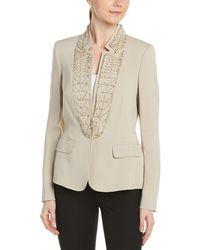 ESCADA Silk-blend Jacket - Natural