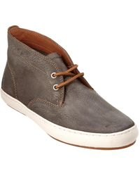 Frye Norfolk Leather Chukka Boot - Gray