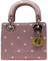 Dior Limited Edition Purple Satin Lady - Multicolor
