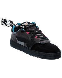 Off-White c/o Virgil Abloh Off-white? Off Court Leather & Suede Sneaker - Black