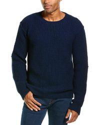 Zadig & Voltaire Jary Awa Alpaca & Wool-blend Crewneck Sweater - Blue