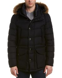 Moncler Rethe Wool Jacket - Blue