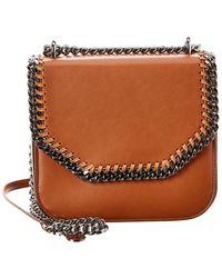 Stella McCartney Falabella Box Shoulder Bag - Brown