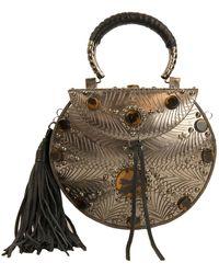 Sam Edelman Silvia Iron Boxed Mini Handbag