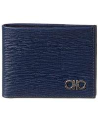 Ferragamo Gancini Wallet - Blue