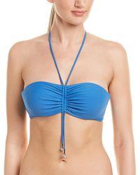 La Perla Underwire Bandeau Swim Top - Blue