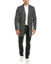 Zadig & Voltaire Mark Long Wool-blend Coat - Gray
