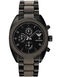 Emporio Armani Sportivo Watch - Black