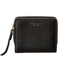 Tory Burch Perry Bifold Wallet - Black