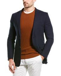 Dunhill Wool Blazer - Blue