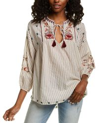 Johnny Was Chrysalis Blouse - Multicolor