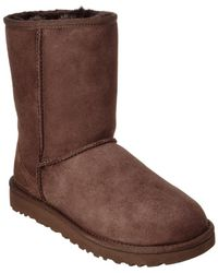 UGG Women's Classic Short Ii Water-resistant Twinface Sheepskin Boot - Brown