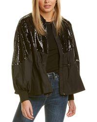 Gracia Sequin Jacket - Black