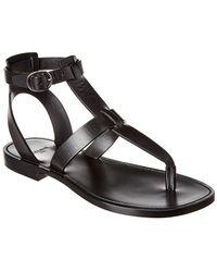 Céline Lerins Vegetal Leather Sandal - Black