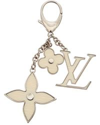 Louis Vuitton Fleur D'epi Bag Charm - Metallic