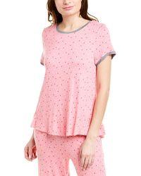 Kensie Pajama Top - Black