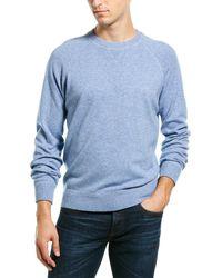 Brunello Cucinelli Wool & Cashmere-blend Jumper - Blue