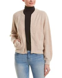 Vince Terry Bomber Jacket - Natural