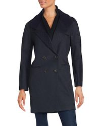 O'2nd - Beegees Knit Collar Coat - Lyst
