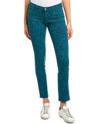 M.i.h Jeans Jeans Ellsworth Wild Rose Teal High-rise Skinny Leg - Red