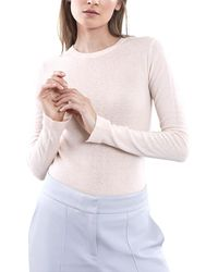 Reiss Connie Wool-blend Jumper - Pink
